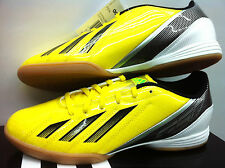 ADIDAS F10 IN INDOOR COURT FUTSAL YELLOW FOOTBALL SOCCER SHOES TRAINERS