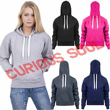 Womens Plain Pullover Hoodie Rocky STyle Workout Casual Cheap Hooded Sweatshirt