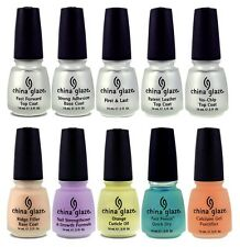 China Glaze Treatments - 0.5oz / 14ml Each - Choose Any