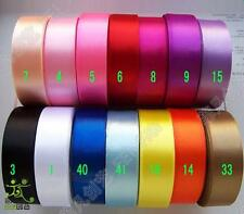 "7/8""22mm Single Face Satin Ribbon 5Yard/10Yard/50Yard/100Yard High Quality Craft"