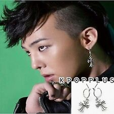 BIGBANG BIG BANG G-DRAGON - Hearts Cross Ring Earring [BB107AA]