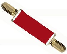 DRESS CINCH CLIP - RED w/GOLD or SILVER CLIPS for DRESSES, SHIRTS & JACKETS