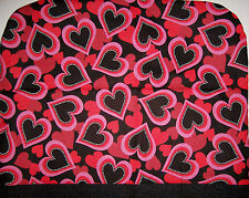 NEW Handmade Valentine's Day Mixer or Monitor Covers Hearts Children Cats Dogs