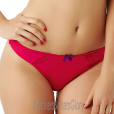 Panache Cleo Lingerie Juna Thong/Knickers Strawberry 6469 NEW Select Size