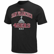 San Francisco 49ers Super Bowl XLVII Bound Heart and Soul T-Shirt - Black