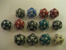 Magic the Gathering Spin Down Die Dice D20 - Many Colors & Sets to choose from