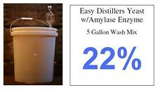 (1) Package Of 5 Gallon Distillers Yeast---Moonshine Alcohol Whiskey Rum Vodka