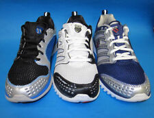 "Mens K-Swiss ""Blade-Light TM Run"" Black, White & Blue Trainer"