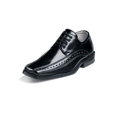 Stacy Adams DEMILL Youth Boys Laces Black  DRESS Shoe
