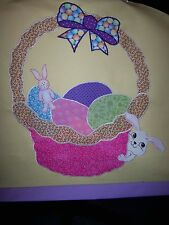 ** NEW ITEM *** Easter Basket Chair Cover Bunny Eggs