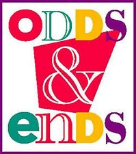 ODDS & ENDS ONE OF A KINDS SINGLES NOTEPADS TAPE NOTEBOOKS PAPER SAMPLES