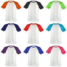 Lovely Kids & Baby Casual Cotton Raglan T-Shirts All Colors Tops.(Sz) 3~12 Years