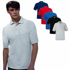 Fruit of the Loom 65/35 Polo Shirt mit Brusttasche S - XXXL
