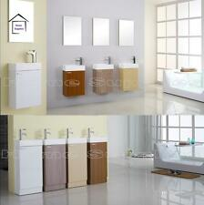 BATHROOM CLOAKROOM VANITY UNIT - CHOICE OF 4 FINISHES