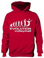 Evolution of Volleyball School Sport Boys Girls Kids Hoodie Gift Age 5-13