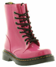 Dr Martens Wellington Boots Genuine Drench Wellington Patent Sizes UK 3 - 9