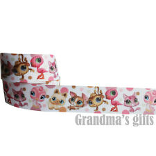 "1""25mm Cartoon Printed grosgrain ribbon 5/50/100 yards hairbow Wholesale"