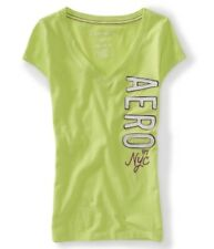 Aeropostale 87 NYC Vertical V-Neck  Graphic T-Shirt for girls/women NWT!