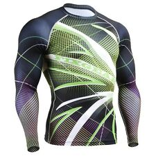 FIXGEAR CFL-71 Compression Shirt Base Layer Under Skin Tight Gym Training MMA