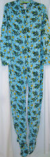 New Adult Womens Winter Footed Frog Pajamas Size M L XL Joe Boxer Pajamas