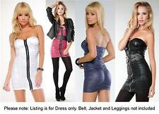 Flirt Catalog Womens Strapless Ruched Zipper Mini Dress Stretch Slim Fit Padded