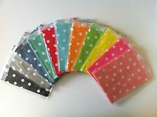 25 Dot Party/Lolly Paper bags (Red, Pink, Blue, Orange, Green, Gray, Yellow)