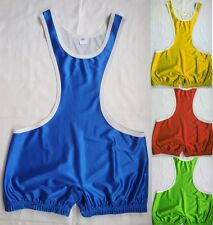 Pure Color Trunk All color Custom Wrestling Outfit Leotards Wrestling Singlet