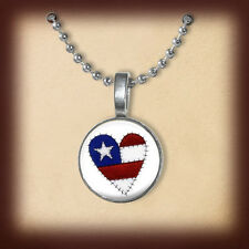 OMG it is really a Nickel. FREE Jewelry. Red, White, Blue, American Flag, Eagle