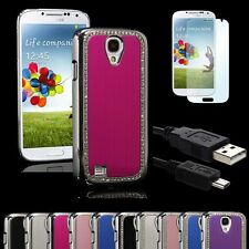 11 Colors Brushed Aluminum Chrome Hard Case for Samsung Galaxy S4 IV i9500