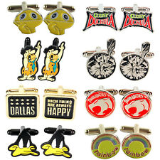 Funky Retro Novelty Cufflinks - Great Gift for Him - Fathers Day Present