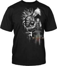 Diablo III 3 Tyrael Side New Blizzard Officially Licensed Adult T-Shirt S-4XL