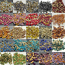 1440Pcs Czech Crystal glass Rhinestones Pointed Back choose Colors & Sizes