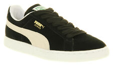 Puma Suede Classic Black/white Trainers Shoes