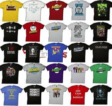 Choose From Big Bang Theory Bazinga Licensed T-Shirt Soft Kitty Sheldon S-3XL