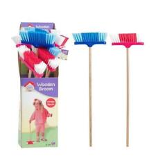 Cosy Village Childrens Sweeping Brush Broom Housework cleaning Toy Blue or Pink