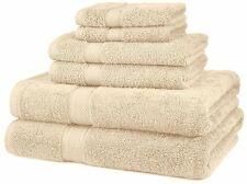 NEW 6 Piece 100% Egyptian Cotton 725 Gram Bath Towel Hand & Wash Towels Set