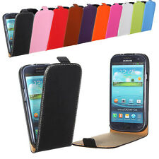Flip ※Genuine Leather※ Hard Cover Case For Samsung※Galaxy S3 i9300※Mini※S2※Ace 2