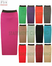 WOMENS GYPSY LONG JERSEY ELASTIC WAIST MAXI DRESS FULL LENGTH SKIRT SIZE 8-14