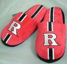 Rutgers Scarlet Knights Youth Team Stripe Plush Slippers