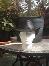 AUSTRALIAN STYLE LEATHER AUSSIE  BUSH HAT TAGS  LADIES GENTS  MUST FOR FESTIVALS