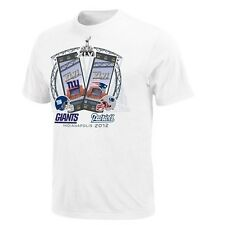 New England Patriots vs New York Giants Super Bowl XLVI Ticket Driver IV T-Shirt