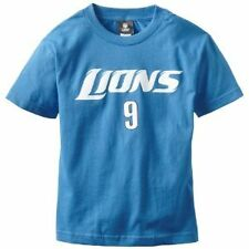 Matthew Stafford Youth Detroit Lions # 9 Primary Gear Player T-shirt