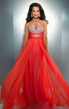 elegant new design Long prom dresses Evening Ball Gown wedding gown size 6-16