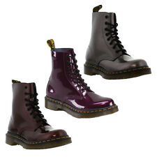 Dr Martens Ankle Boots Genuine Pascal Patent 1460 8 Eye Womens Boot Sizes UK 4-8