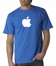 APPLE T-SHIRT computer Mac logo inspired ipod iphone6 Small-5XL All Colors!
