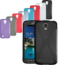 X Line TPU Silicone Case Cover Skin For Samsung Galaxy S4 Active i9295 i537 AT&T