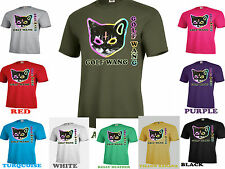 Golf Wang Cat T-Shirt OFWGKTA Tyler the Creator Odd Future Wolf Gang~WMU-22 TEE
