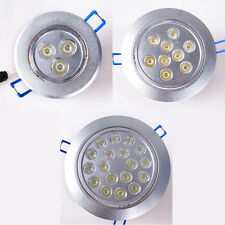 1W ~ 18W LED Cabinet Recessed Ceiling Spotlight Down Light Bulb Lamp Dimmable/N