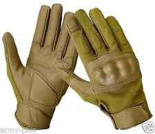 MILITARY NOMEX FIRE RESISTANT TACTICAL HARD KNUCKLE SHOOTING GLOVES -3 COLORS