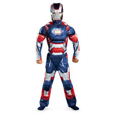 Iron Man 3 Patriot Child Muscle Costume 2013 Movie Avengers Disguise 55658